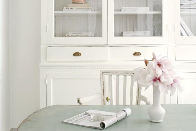 Le blanc transcende le style.... (Fournie par Benjamin Moore)