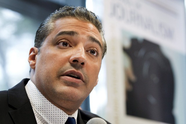 Mohamed Fahmy... (Photo Fred Thornhill, Reuters)