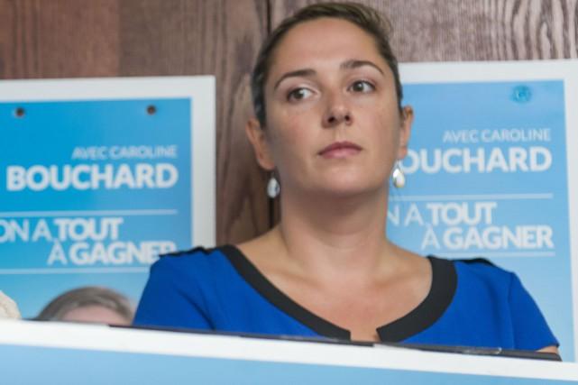 Caroline Bouchard... (Archives La Tribune, Frédéric Côté)