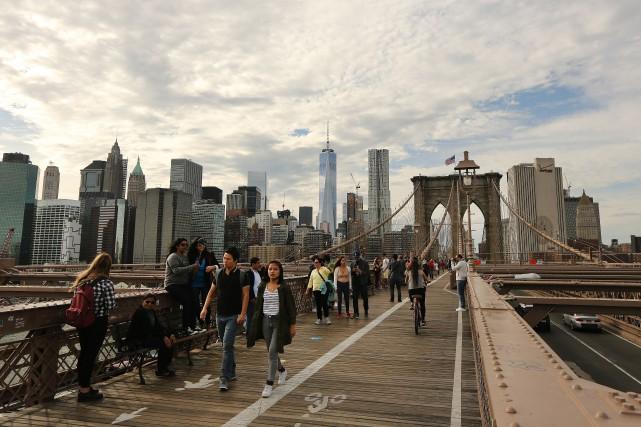 Cinq New-Yorkais qui ont leur ville tatouée sur le coeur nous livrent leur... (Photo Martin Chamberland, La Presse)