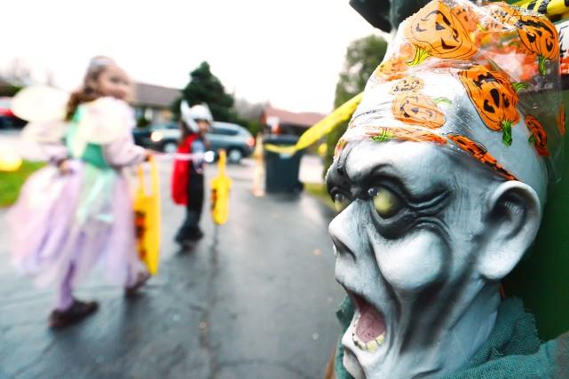 Encore une fois cette année à l'approche de l'Halloween, la présence de... (Archives La Tribune)