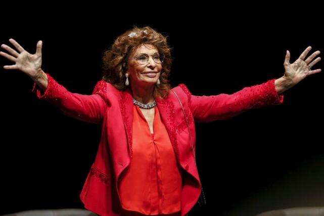 Sophia Loren... (Archives Reuters)