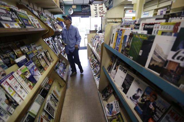 Les dépenses de publicité souffrent depuis plusieurs années,... (Photo AP)