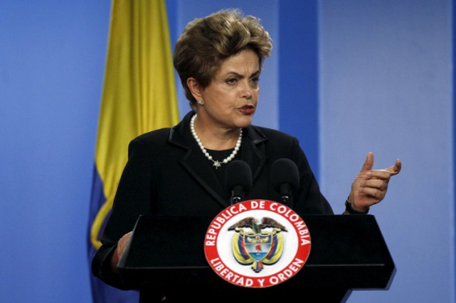 Dilma Rousseff... (PHOTO REUTERS)