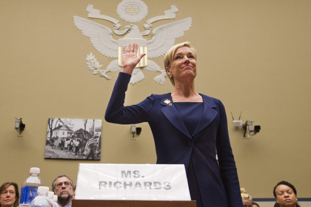 La présidente de Planned Parenthood, Cecile Richards, a été... (PHOTO AP)