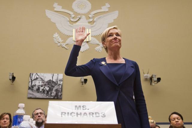 La présidente de Planned Parenthood, Cecile Richards,a été... (PHOTO AP)