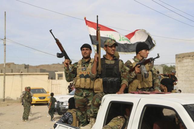 La semaine dernière, les Irakiens avaient annoncé la... (PHOTO AP)