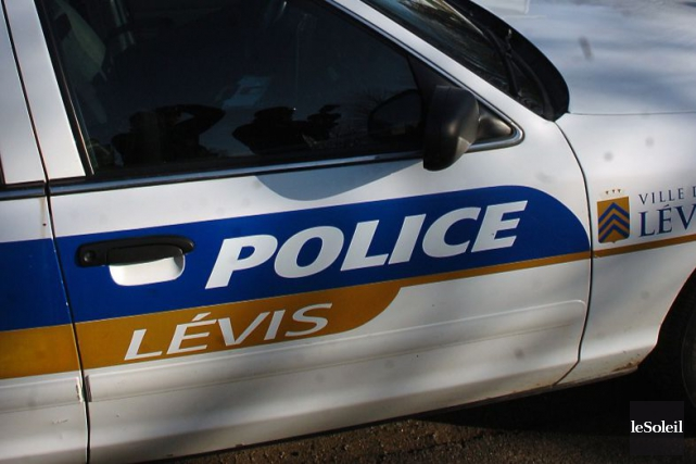 Les policiers de Lévis ont notamment saisi quatre... (PHOTO JEAN-MARIE VILLENEUVE, ARCHIVES LE SOLEIL)