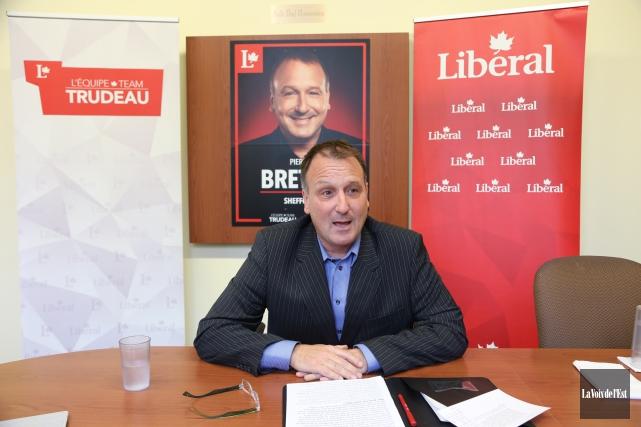 Pierre Breton espère être élu pour appliquer les... (Alain Dion, La Voix de l'Est)