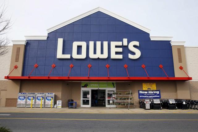 Le détaillant américain Lowe's s'apprête à rencontrer des... (La Presse Canadienne)