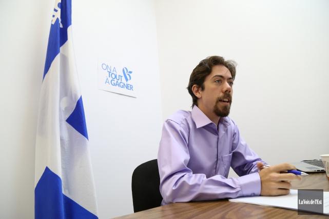 Le candidat du Bloc québécois dans Shefford, Jocelyn... (archives La Voix de l'Est)