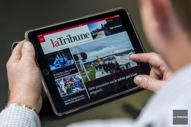 Moins mobile que le téléphone intelligent, la tablette... (Imacom, Frédéric Côté)