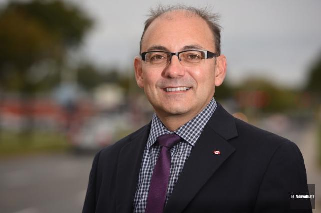 Le candidat du PLC dans Trois-Rivières, Yvon Boivin.... (François Gervais, Le Nouvelliste)