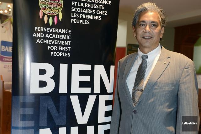 Le directeur du Centre des Premières Nations Nikanite... (Photo Le Quotidien, Jeannot Lévesque)