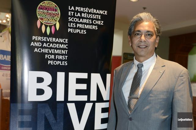 Le directeur du Centre des Premières Nations Nikanite... ((Photo Le Quotidien, Jeannot Lévesque))