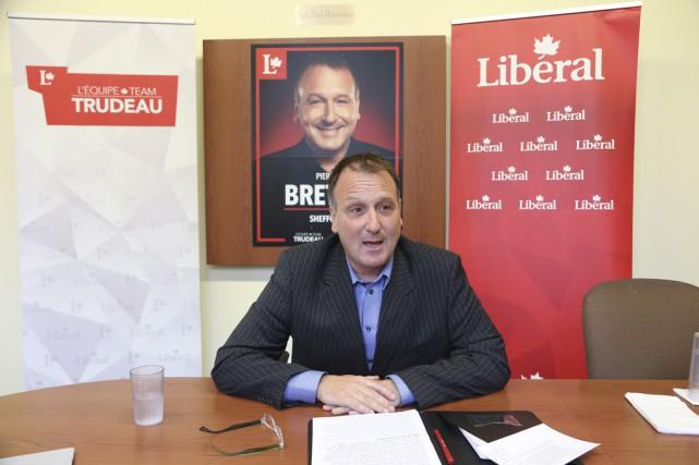 Pierre Breton espère être élu pour appliquer les... (photo Alain Dion)