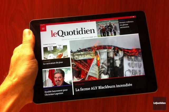 En plus du Quotidien et Progrès-Dimanche, les cinq... (Photo Le Quotidien)