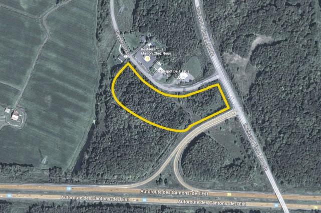 Un promoteur immobilier montréalais, François Paquin, aimerait aménager... (image tirée de Google)