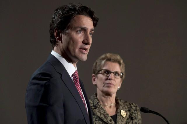 Si Justin Trudeau remporte les élections générales du... (Archives, La Presse Canadienne)