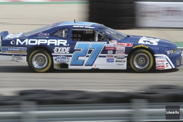 Verra-t-on la voiture numéro 27 d'Andrew Ranger courir... (photo archives La Voix de l'Est)