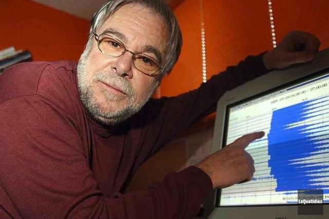 Reynald Duberger a enseigné 33 ans à l'UQAC.... (Photo: Le Quotidien)