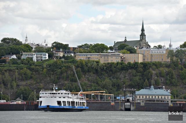 La traverse Québec-Lévis... (Photothèque Le Soleil, Erick Labbé)
