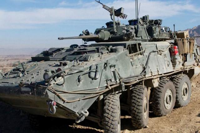 Les véhicules militaires livrés à l'Arabie sont des... (Forces armées canadiennes)