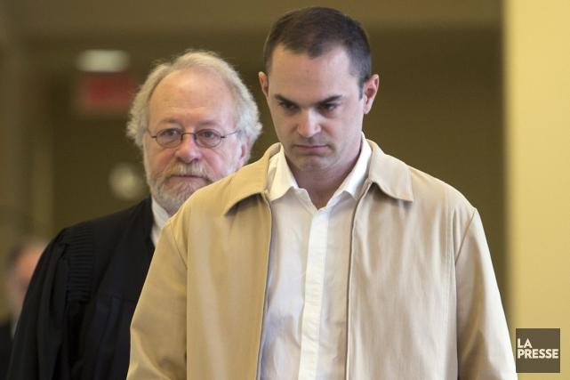 Guy Turcotte et un de ses avocats, Me... (La Presse Canadienne)