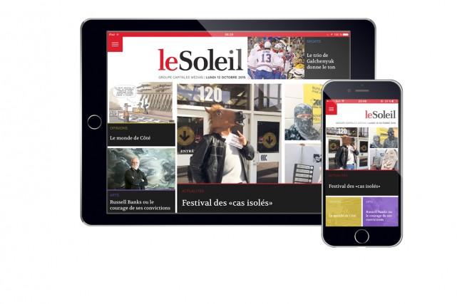 La nouvelle application pour tablettes et téléphones intelligents...