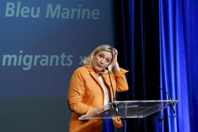 Marine Le Pen a également déposé une «requête... (PHOTO PASCAL ROSSIGNOL, ARCHIVES REUTERS)