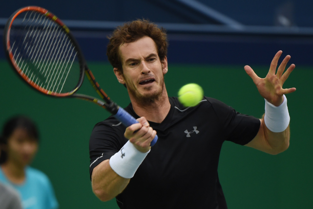 Andy Murray... (Photo Greg Baker, AFP)