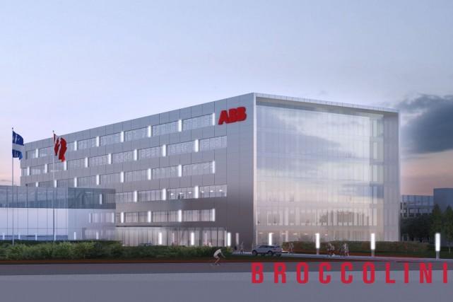 Le nouveau siège social d'ABBsera construit dans le... (Illustration fournie par Broccolini)