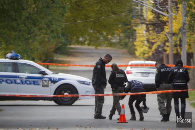 Un homme de 34 ans armé d'un marteau a semé la terreur à Laval, mardi soir, en... (PHOTO IVANOH DEMERS, LA PRESSE)