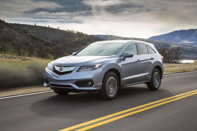 Le Acura RDX 2016... (PHOTO FOURNIE PAR ACURA)