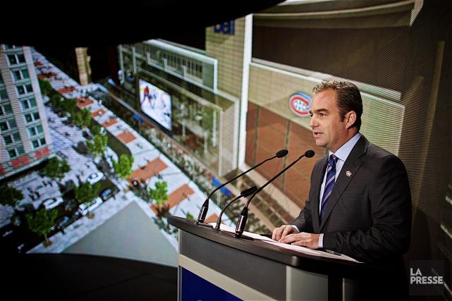 «Cet investissement d'envergure a pour but de maintenir... (Photo André Pichette, La Presse)