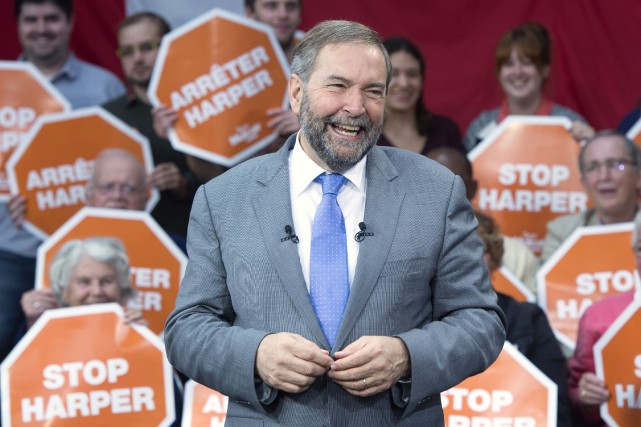 Thomas Mulcair... (Photo PC)