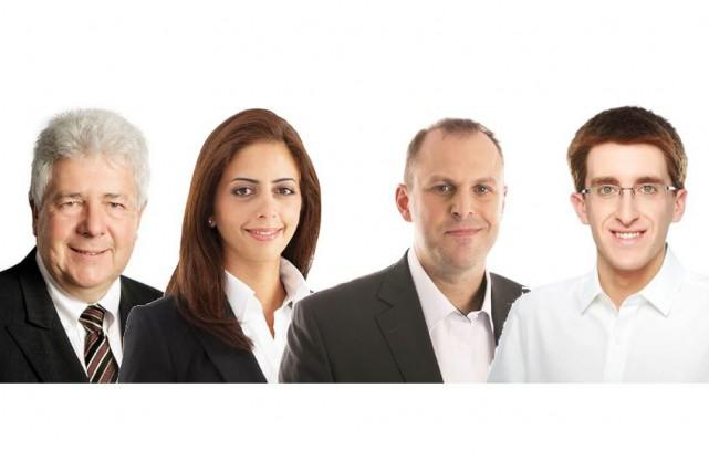 Les quatre candidats de la CAQ: Tom Redmond... (Coalition avenir Québec)