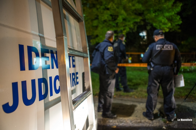 Un homme de 56 ans a été arrêté... (Photo: Olivier Croteau Le Nouvelliste)