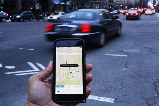 Le programme UberRush sera initialement disponible pour un... (PHOTO ANDREW CABALLERO-REYNOLDS, ARCHIVES AFP)