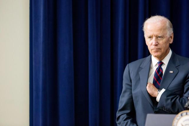 Depuis près de deux mois, Joe Biden souffle... (PHOTO ANDREW HARNIK, ARCHIVES AP)