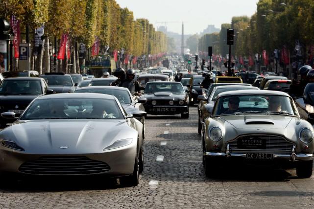 Aston Martin, vieux de 102ans, cherche à se... (PHOTO ALAIN JOCARD, ARCHIVES AGENCE FRANCE-PRESSE)