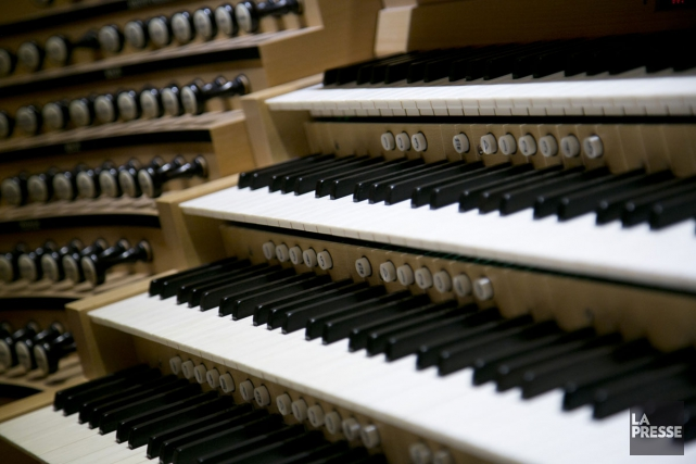 Le Grand Orgue Pierre-Béique de la Maison symphonique... (PHOTO DAVID BOILY, ARCHIVES LA PRESSE)