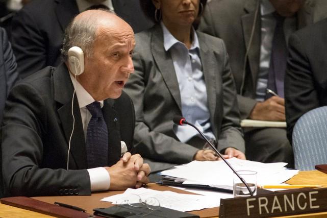 Le ministre français des Affaires étrangères Laurent Fabius.... (PHOTO DARREN ORNITZ, ARCHIVES REUTERS)