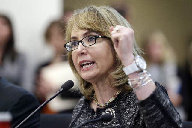 Gabrielle Giffords est la figure de proue de la... (PHOTO AP)