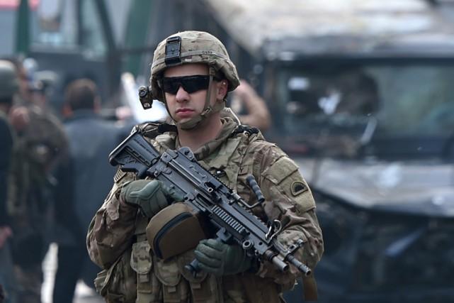 Les États-Unis sont en train de revoir à la hausse leur présence militaire en... (ARCHIVES AFP)