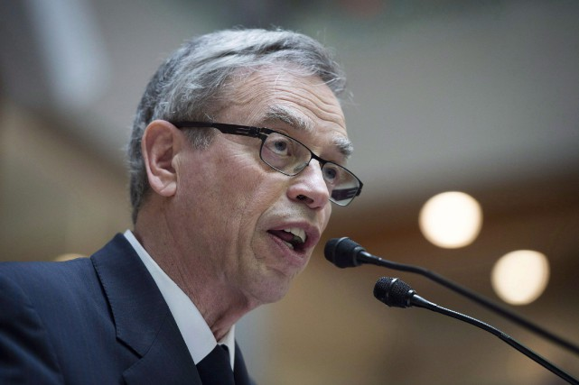Le ministre des Finances sortant, Joe Oliver... (PHOTO ARCHIVES LA PRESSE CANADIENNE)