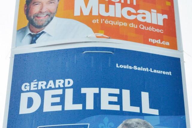 À l'échelle du pays, les circonscriptions deLouis-Saint-Laurent et... (Le Soleil, Jean-Marie Villeneuve)