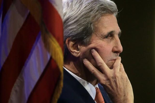 Le secrétaire d'État américain John Kerry veut se rendre «bientôt» au... (PHOTO AP)