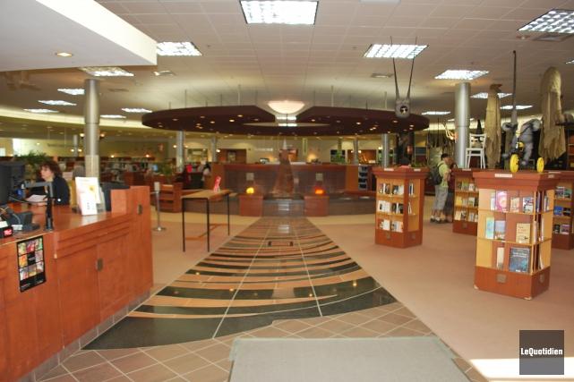 La fermeture de la bibliothèque de Chicoutimi sera... ((Archives Le Quotidien))
