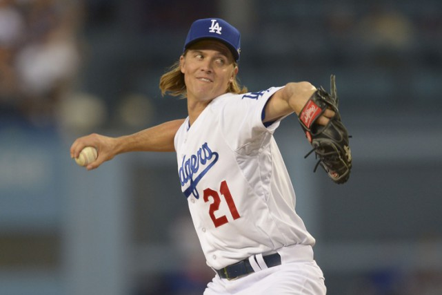 Zack Greinke... (PHOTO REUTERS)